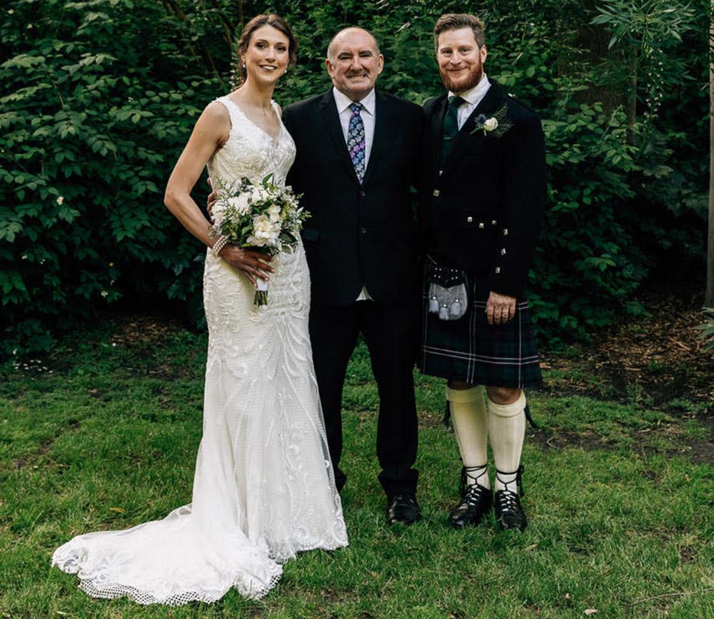 Gavin Kirsten Wedding with Bronte as Celebrant