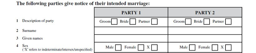 6 Common Mistakes Made In Filling Out The Notice of Intended Marriage 24