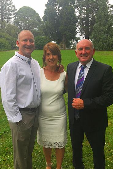 Jayne and Dan wedding Hamilton Botanic Gardens